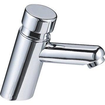 Robinet lave-mains eau froide, chromé, SENSEA Volga