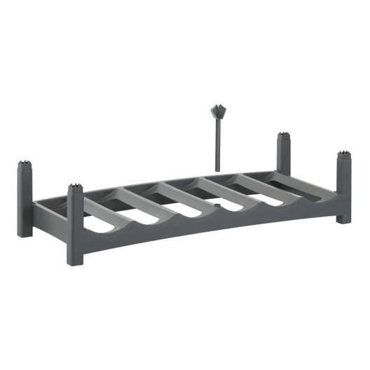 casier 6 emplacements plastique leroy merlin. Black Bedroom Furniture Sets. Home Design Ideas