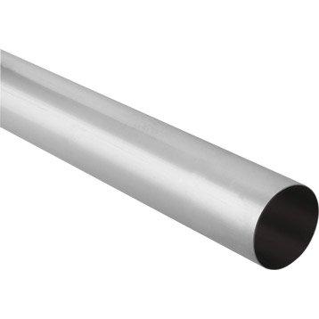 Tuyau de descente zinc gris Diam.100 mm L.2 m LMC VIRANO