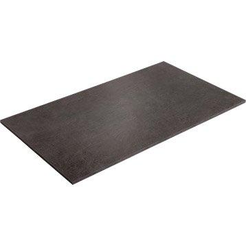 Plateau de table aggloméré béton, L.120 x l.70 cm x Ep.18 mm