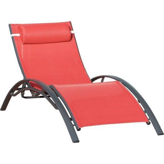 bain de soleil transat hamac chaise longue au meilleur prix leroy merlin. Black Bedroom Furniture Sets. Home Design Ideas