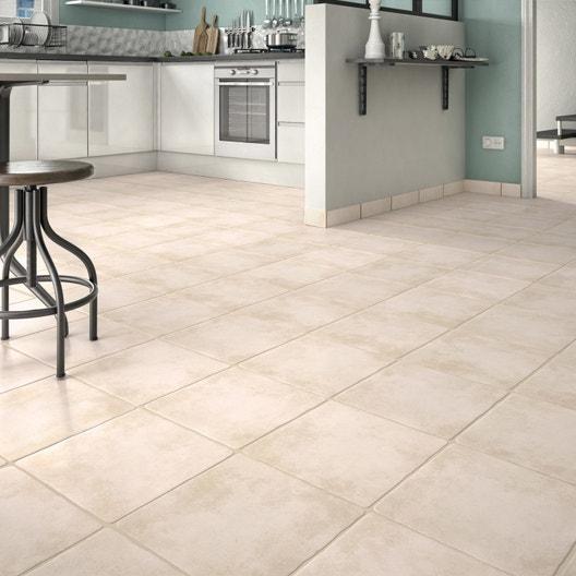 carrelage sol et mur beige effet pierre romanciere x. Black Bedroom Furniture Sets. Home Design Ideas