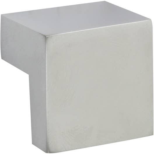 bouton de meuble cube zamak mat