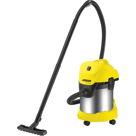 aspirateur eau poussi res et sciures karcher wd3 premium 21 kpa 17 l leroy merlin. Black Bedroom Furniture Sets. Home Design Ideas