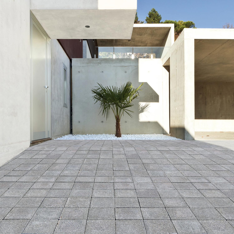 pav b ton drainant gris cm x cm x mm. Black Bedroom Furniture Sets. Home Design Ideas