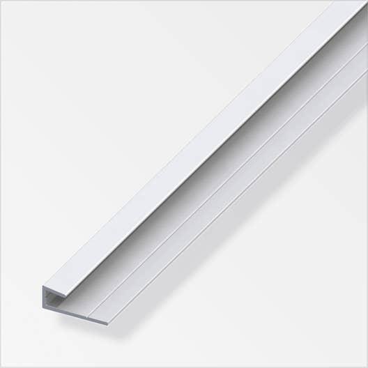 cimaise aluminium anodis l 2 m x l 2 5 cm x h cm leroy merlin. Black Bedroom Furniture Sets. Home Design Ideas