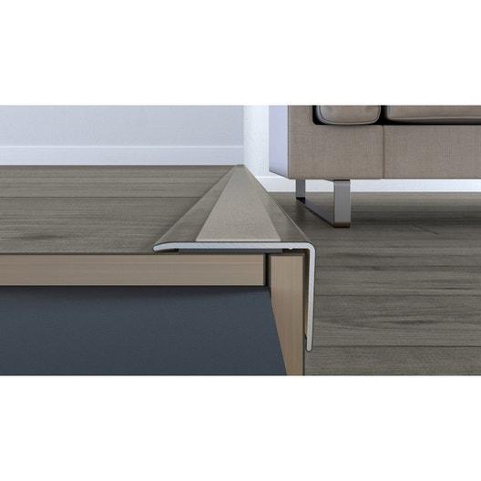 nez de marche d cor n 80 pour stratifi pvc cm x mm leroy merlin. Black Bedroom Furniture Sets. Home Design Ideas