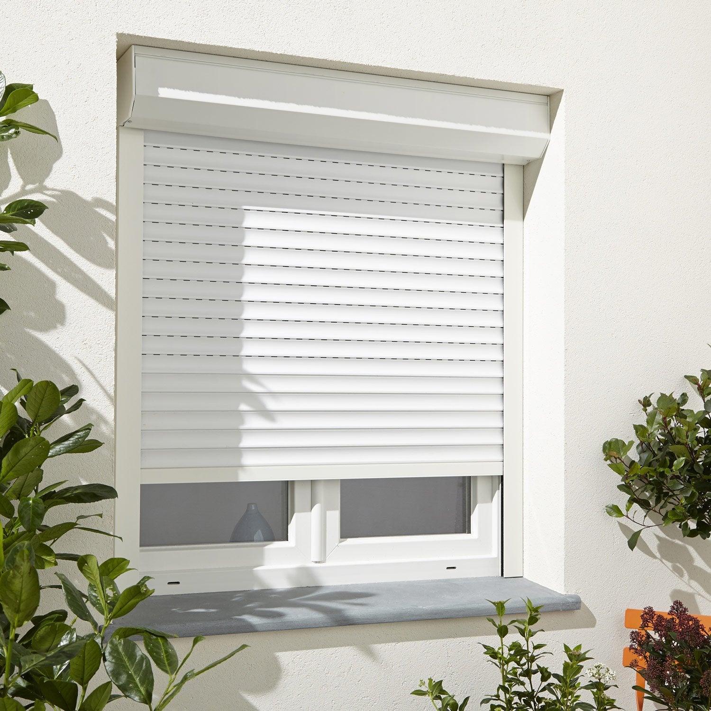 volet roulant motoris filaire aluminium isol x l. Black Bedroom Furniture Sets. Home Design Ideas