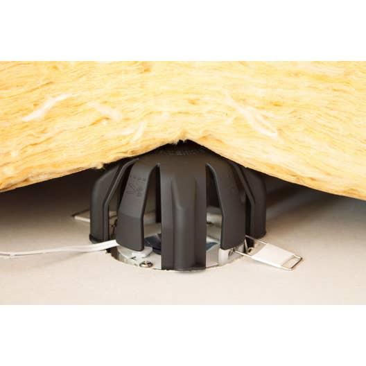 lot de 3 cloches de protection pour spot encastrer fixe. Black Bedroom Furniture Sets. Home Design Ideas