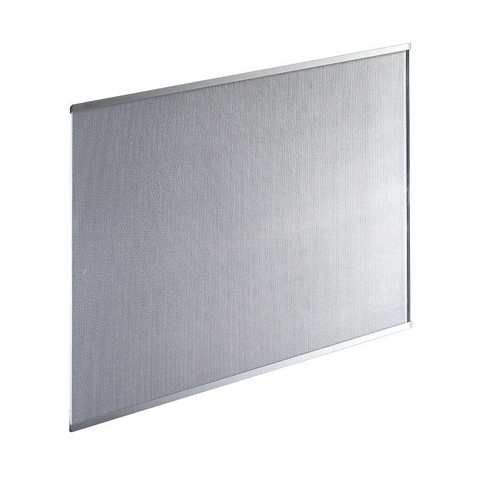 Fond De Hotte Verre Aspect Metal H 70 Cm X Ep 5 Mm X L 90 Cm