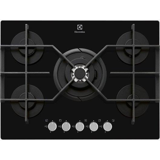 Plaque de cuisson gaz lectrique vitroc ramique - Plaque de cuisson electrolux ...