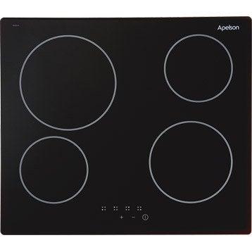 Plaque de cuisson gaz lectrique vitroc ramique - Table induction electrolux e6223hfk ...