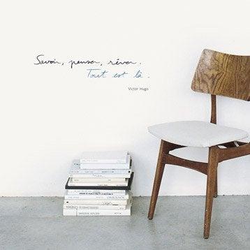 Sticker Hugo Savoir, penser, rêver 24 cmx 69.5 cm