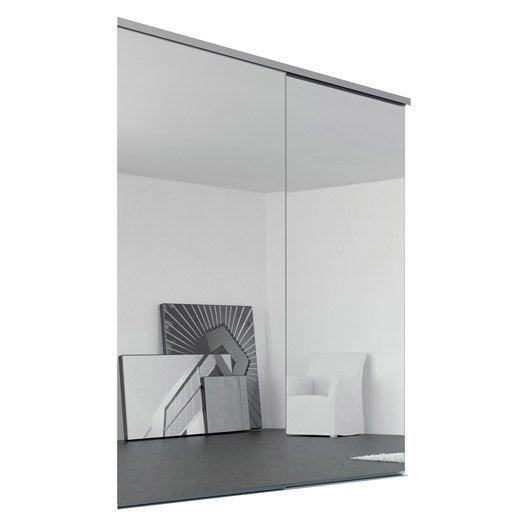 porte de placard coulissante sur mesure iliko classic. Black Bedroom Furniture Sets. Home Design Ideas