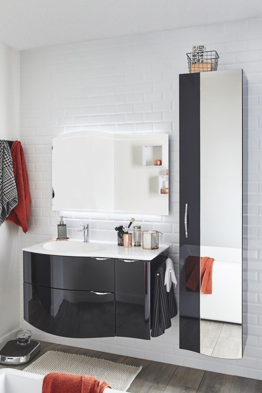 Un quipement moderne dans votre salle de bains leroy merlin for Equipement salle de bain