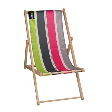 Bain de soleil transat hamac chaise longue au meilleur - Chilienne en bois ...