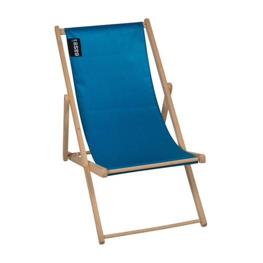 chilienne amovible en bois pratik bleu p trole leroy merlin. Black Bedroom Furniture Sets. Home Design Ideas