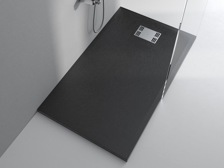 la r sine noire pour une douche tout en sobri t leroy merlin. Black Bedroom Furniture Sets. Home Design Ideas