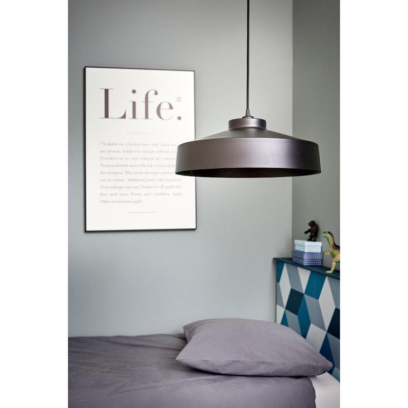 Lustre Design Métal Noir Corep Archi 1 Lumières D41 Cm