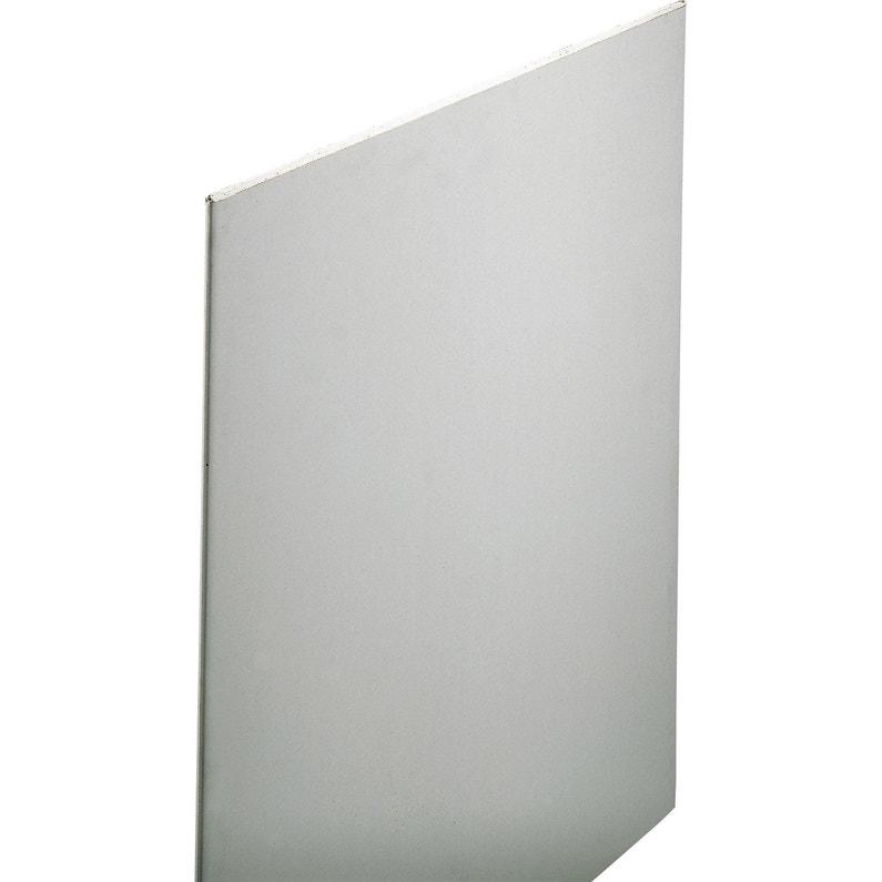 Plaque De Plâtre Ba 13 H250 X L120 Cm Standard Nf Home Pratik