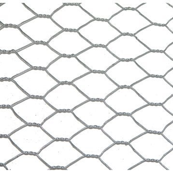 Grillage pour animaux triple torsion gris, H.1 x L.3 m, maille H.12 x l.12 mm