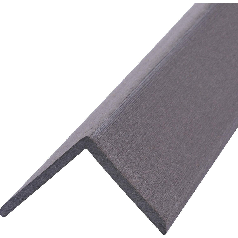 angle composite 2700 x 50 gris 2 7 m leroy merlin. Black Bedroom Furniture Sets. Home Design Ideas