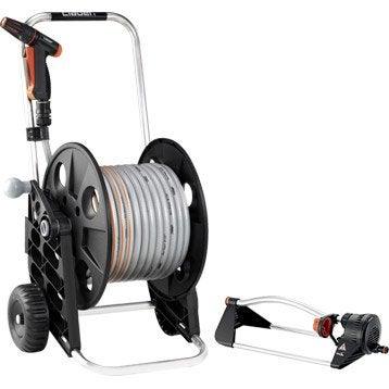 Dévidoir sur roues, équipé L.30 m CLABER Compact 30