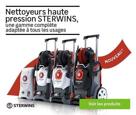 HOP Famille Nettoyeur Haute pression Sterwins