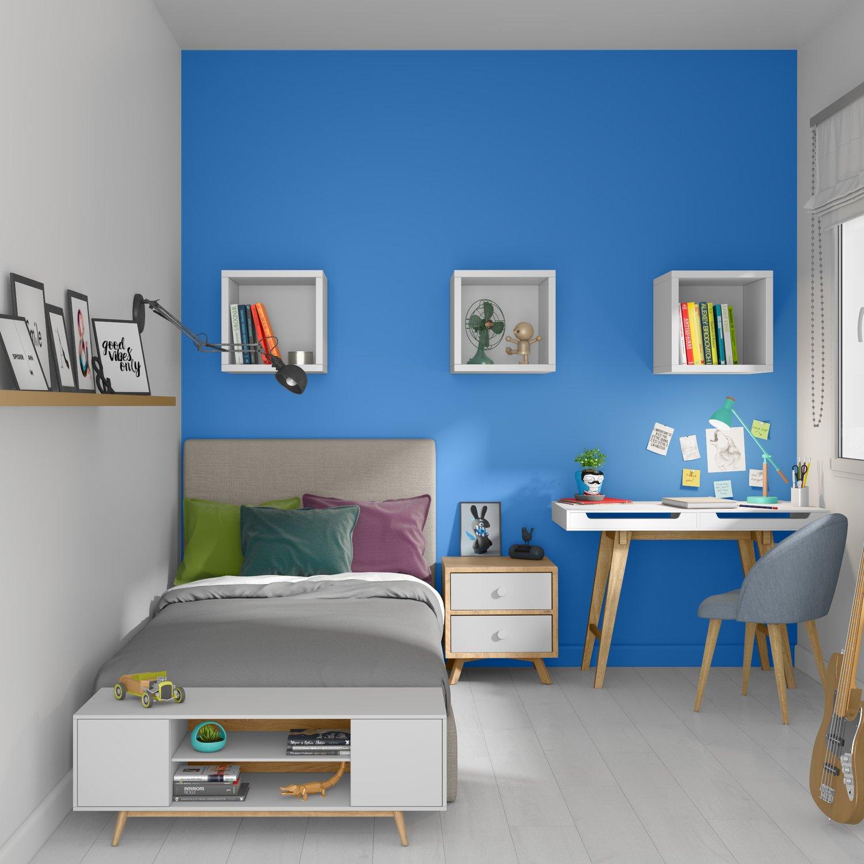 chambre d 39 ados pour gar on leroy merlin. Black Bedroom Furniture Sets. Home Design Ideas