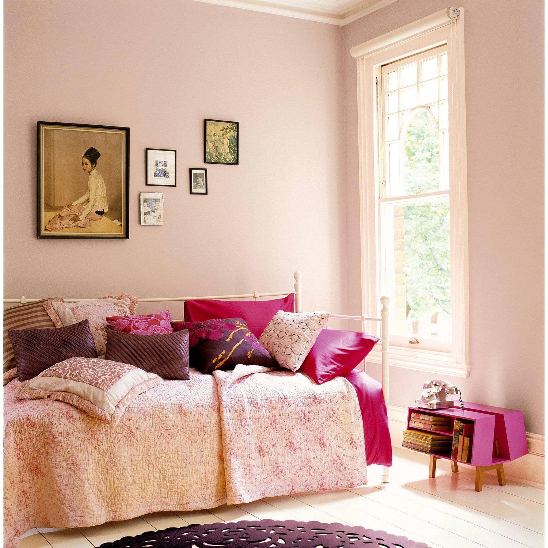 Chambre pour femme couleur bouton de rose leroy merlin - Les couleurs pour chambre a coucher ...