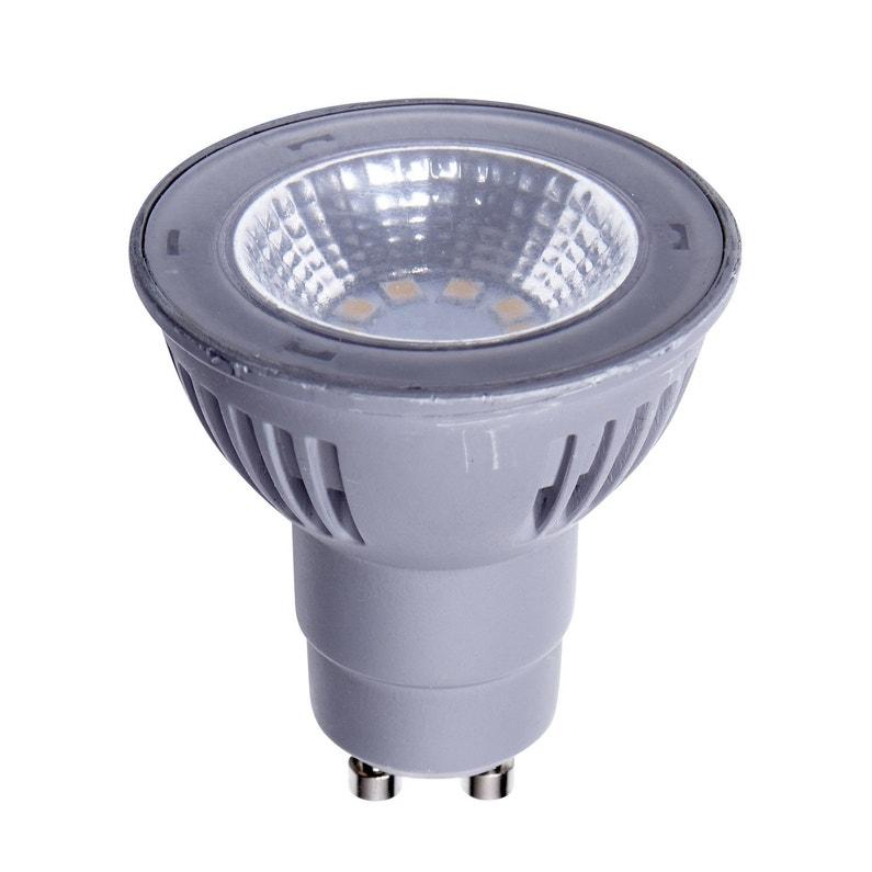 Ampoule Réflecteur Led 5 5w 450lm équiv 50w Gu10 4000k 100 Lexman