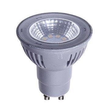Ampoule réflecteur LED 5.5W = 450Lm (équiv 50W) GU10 4000K 100° LEXMAN