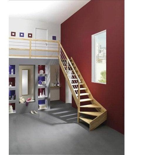 escalier quart tournant bas gauche urban tube structure. Black Bedroom Furniture Sets. Home Design Ideas