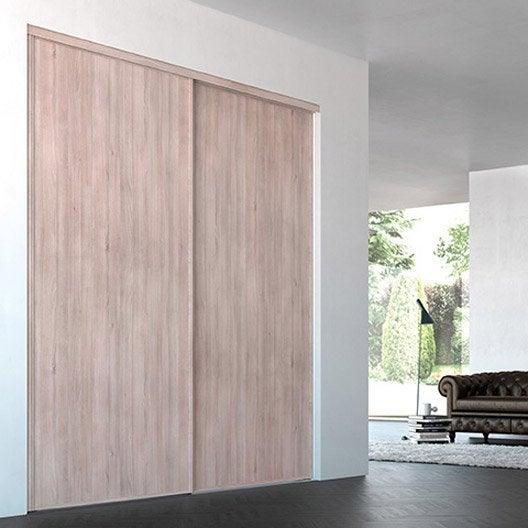 Porte de placard coulissante sur mesure iliko classic de - Portes placard coulissantes sur mesure ...