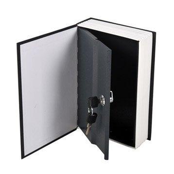 Minicoffre à poser, H.24.5 x l.15.5 x P.5.5 cm