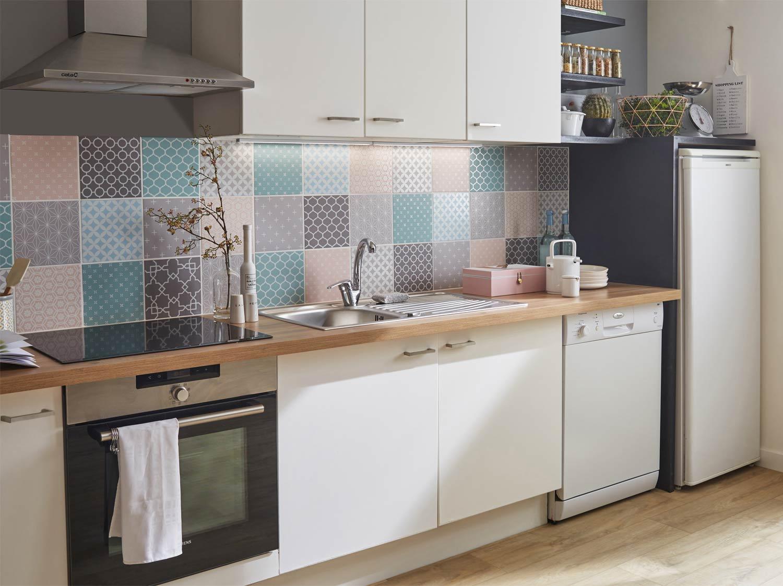 9 id es pour r nover sa cuisine avec cristalgrip leroy merlin. Black Bedroom Furniture Sets. Home Design Ideas