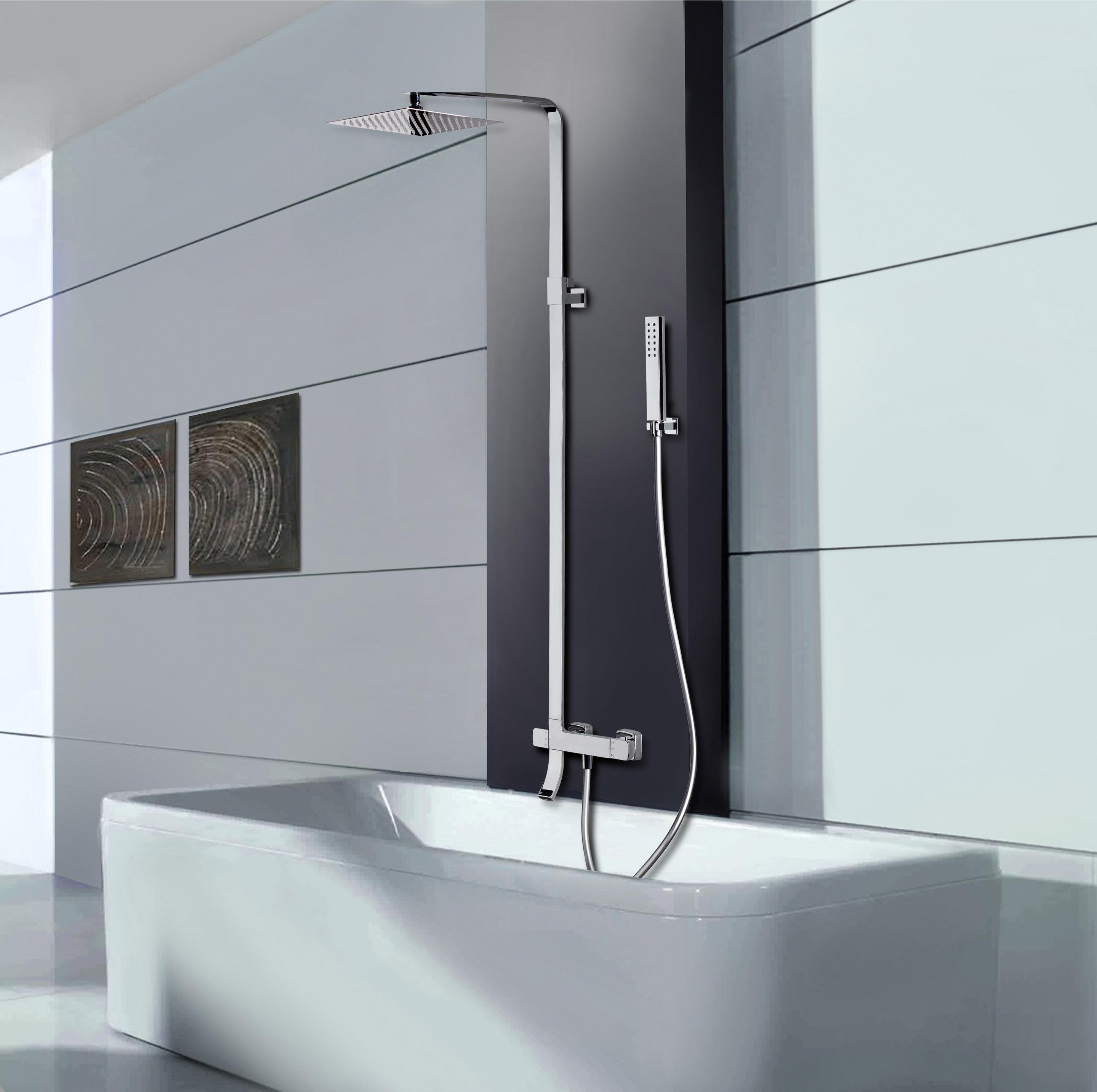 Colonne de bain avec robinetterie, SARODIS Slim