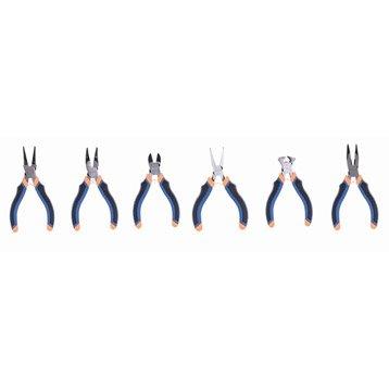 Lot de 6 minipinces DEXTER 973638, 150 mm