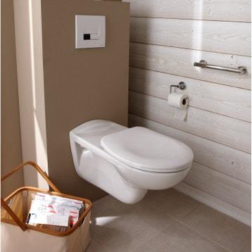 WC suspendu - WC, abattant et lave-mains - Toilette au ...