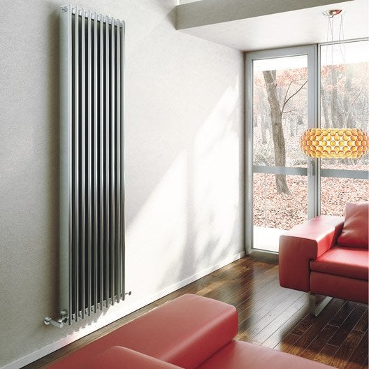 radiateur chauffage central path brillant chrome brillant cm 914 w leroy merlin. Black Bedroom Furniture Sets. Home Design Ideas