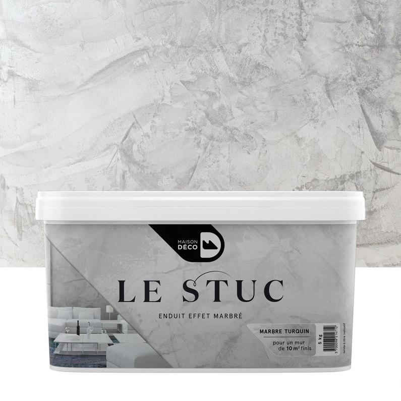 Peinture A Effet Le Stuc Maison Deco Marbre Turquin 5 Kg Leroy