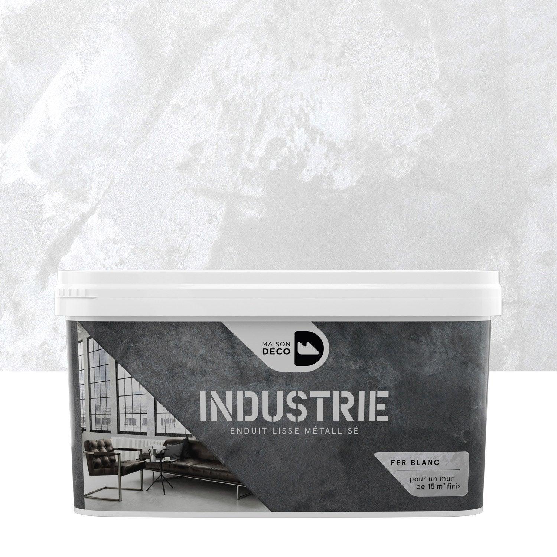 Incroyable Peinture à Effet, Industrie MAISON DECO, Fer Blanc, 4 Kg ... Idees Etonnantes