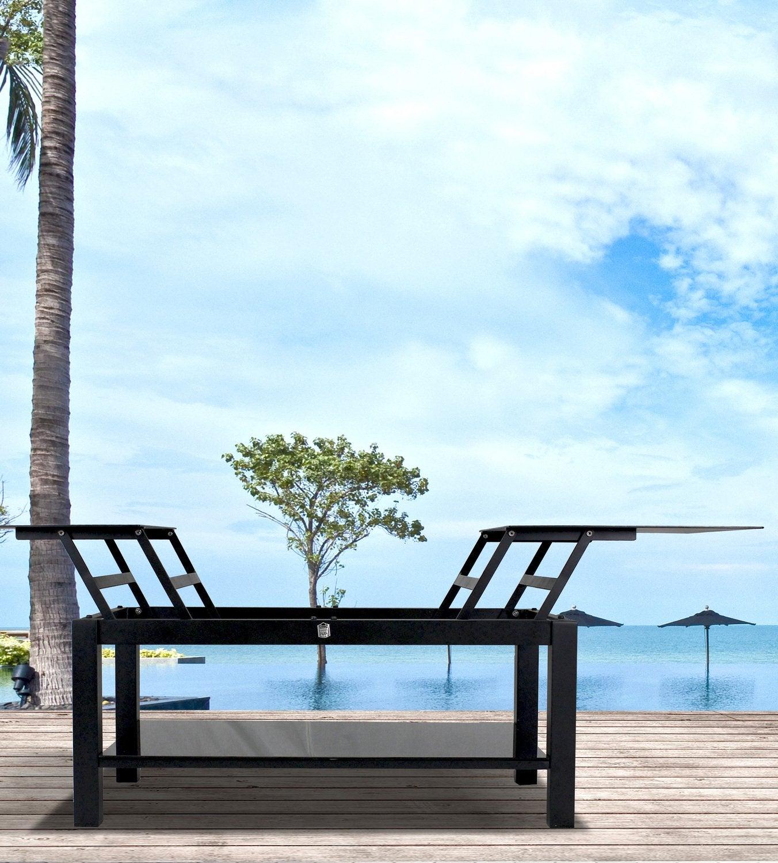 une pergola qui laisse passer la lumi re leroy merlin. Black Bedroom Furniture Sets. Home Design Ideas