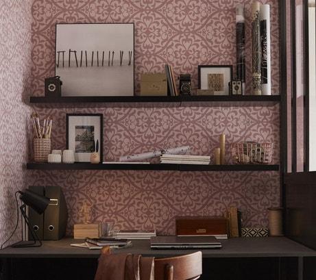 Un coin bureau vintage et romantique