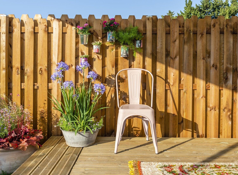 Panneau bois, idéal pour bien clôturer son jardin | Leroy Merlin