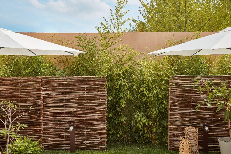 Brise Vue Jardin Japonais un panneau en noisetier, tellement tendance ! | leroy merlin
