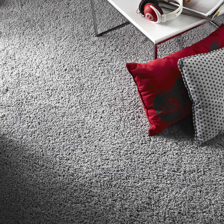 moquette velours moonshadow artens grise 4 m leroy merlin. Black Bedroom Furniture Sets. Home Design Ideas