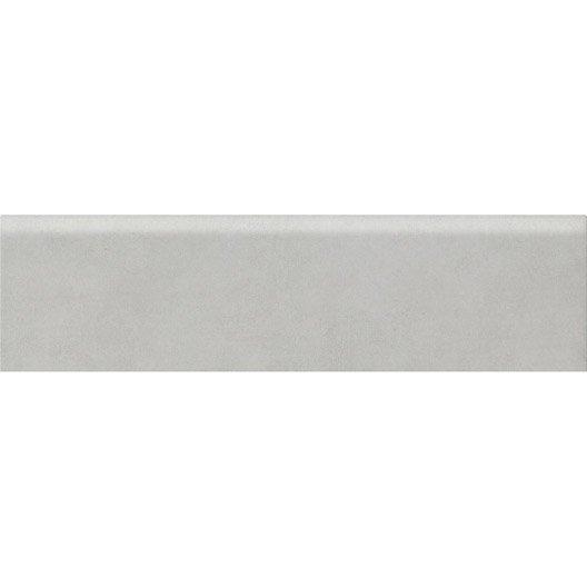 4 plinthes en gr s c rame maill energy gris clair 7 for Carrelage gres cerame gris clair