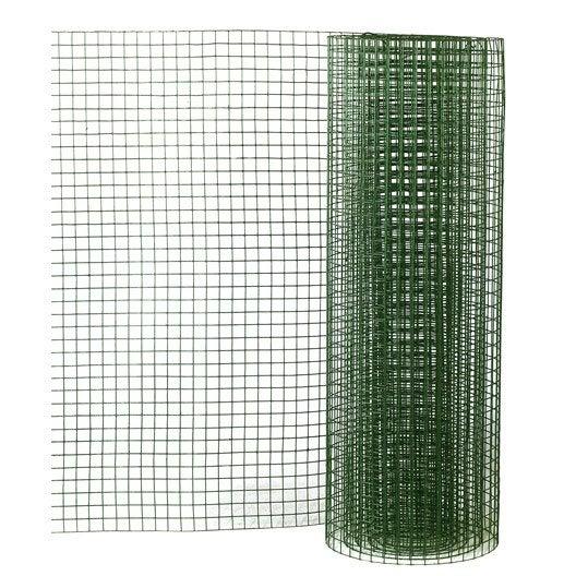 grillage pour animaux soud vert h 0 5 x l 2 5 m x l. Black Bedroom Furniture Sets. Home Design Ideas