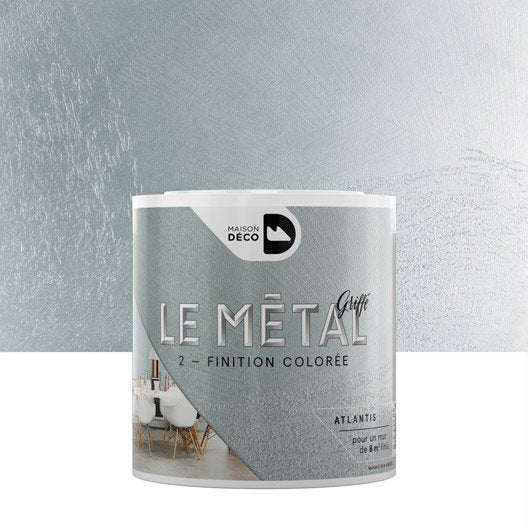Peinture effet m tallis peinture effet leroy merlin for Miroir uyuni leroy merlin